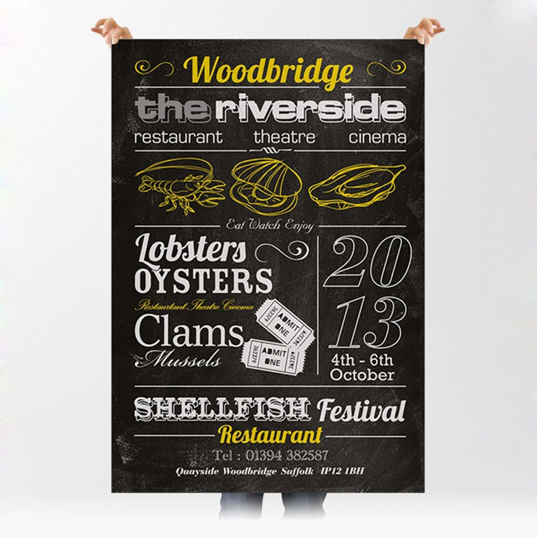 The Riverside Poster