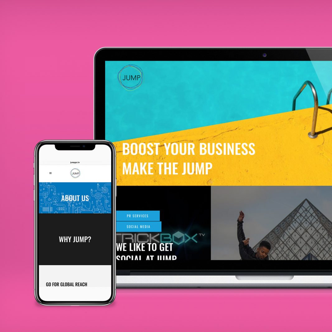 Jump new website mock screen2